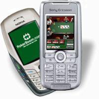 Покер на сотовом телефоне