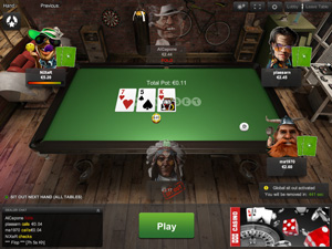 Покер онлайн на деньги русская версия черепашки ниндзя играть онлайн в карты