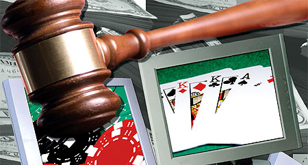 Laws for internet gambling casino action