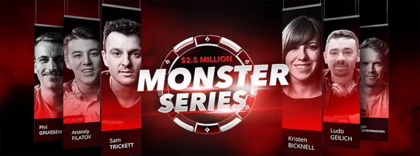 Monster Series на partypoker
