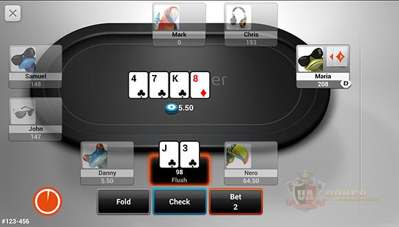 Мобильный покер на PartyPoker