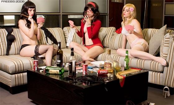 Strip poker - фото MarkFreebs