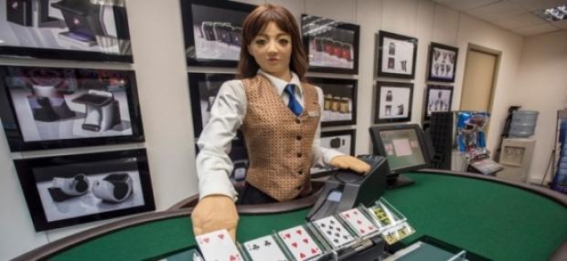 Робот в казино