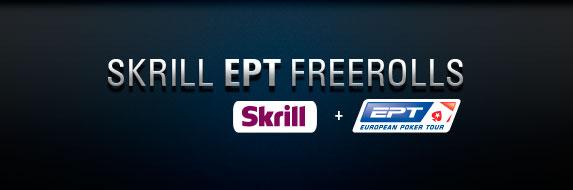 Skrill EPT фрироллы