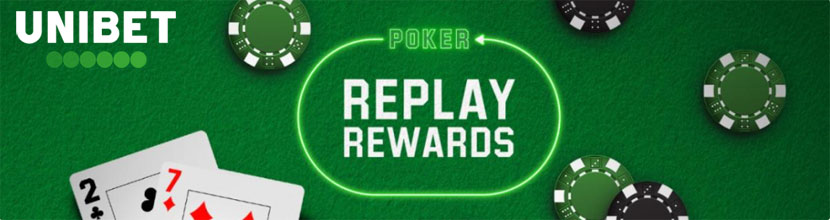 Replay Rewards - акция Unibet